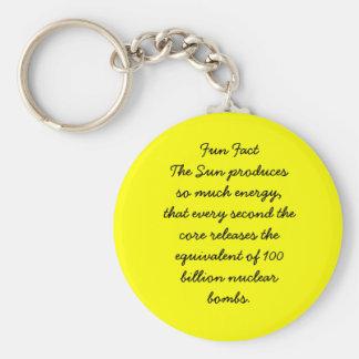 The Sun Keychain