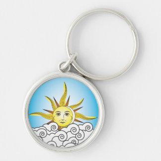 THE SUN KEYCHAINS