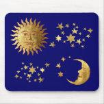 The Sun, las estrellas, la luna Tapetes De Raton