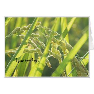The Sun on Ripened Grain. Card