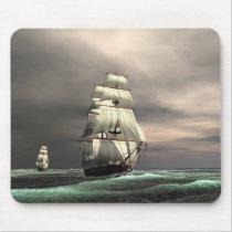 The sun on the Sails Mouse Pad