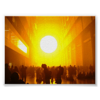 The Sun & People Poster