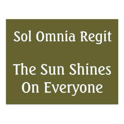 The Sun Post Cards