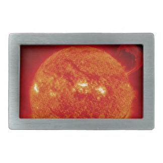 The Sun Rectangular Belt Buckle