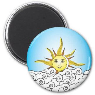 THE SUN REFRIGERATOR MAGNETS
