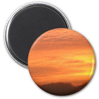 The Sun Rises in Roxbury, MA Magnets