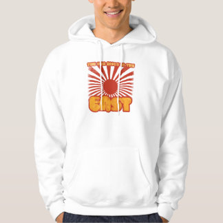 The sun rises in the east hoodie