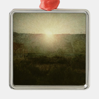 The Sun (Rising Sun) 1904 (oil on canvas) Metal Ornament