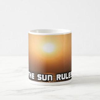 The Sun Rules! 1 Coffee Mug