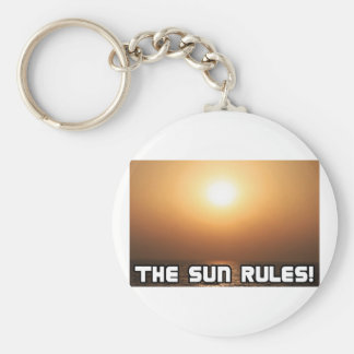 The Sun Rules! 1 Keychain