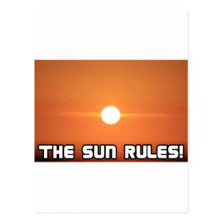The Sun Rules! 3 Postcards