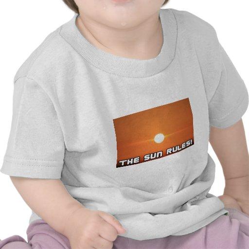 The Sun Rules! 3 Tee Shirt