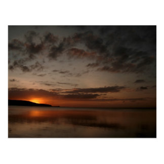 The Sun Sets on Guam Post Cards