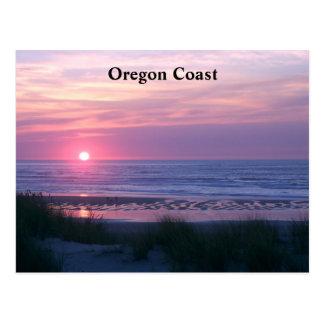 the Sun Sets Pink Postcard