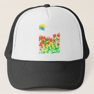 The Sun Shines Behind The Clouds Trucker Hat