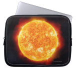 The Sun showing solar flares against a star Laptop Computer Sleeves