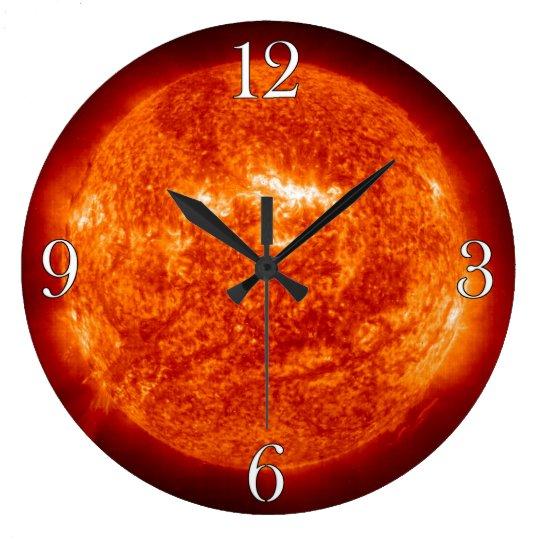 The Sun & Solar Flares Astronomy-lovers Wall Clock