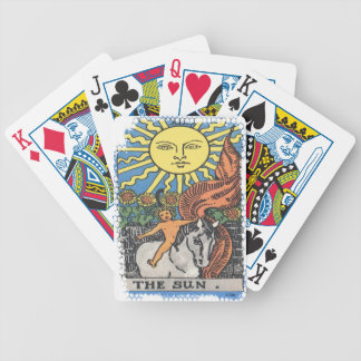 The Sun Tarot Card Fortune Teller Bicycle Playing Cards