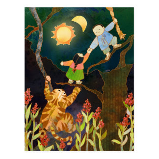 The Sun & The Moon: Korean Folk Tale Postcard