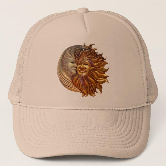 The Sun, The Moon, The Kiss Trucker Hat