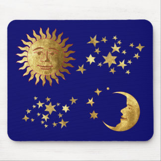 The Sun, the Stars, the Moon Mouse Pad
