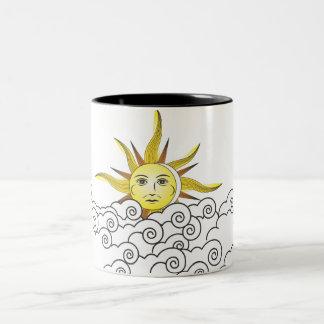 THE SUN Two-Tone COFFEE MUG