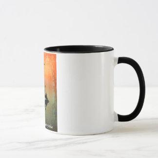 """THE SUN WILL RISE"" 11 oz. RINGER COFFEE MUG"