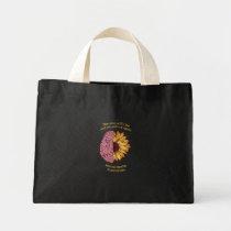 The Sun Will Rise Mental Health Awareness Mini Tote Bag