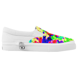 The sun Zipz Slip On Shoes Printed Shoes