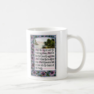 The Sunday at Home 1880 Revelation 22-17 Coffee Mug