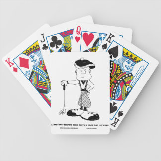 The Sunday Driver Bicycle Playing Cards