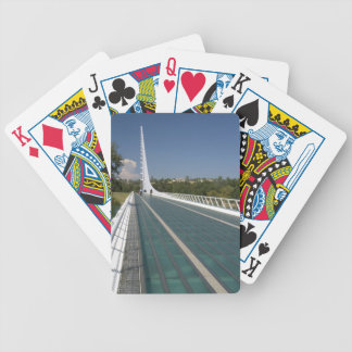 The Sundial Bridge at Turtle Bay Bicycle Playing Cards
