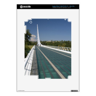 The Sundial Bridge at Turtle Bay iPad 3 Decals