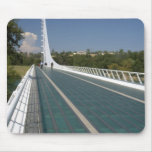 The Sundial Bridge at Turtle Bay Mouse Pad