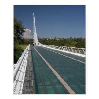 The Sundial Bridge at Turtle Bay Poster