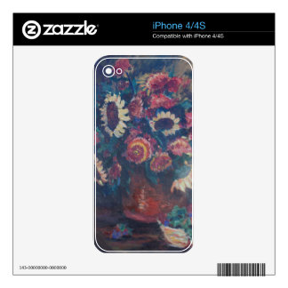 The Sunflower Bouquet Skin For The iPhone 4S