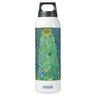 The Sunflower by Gustav Klimt 16 Oz Insulated SIGG Thermos Water Bottle
