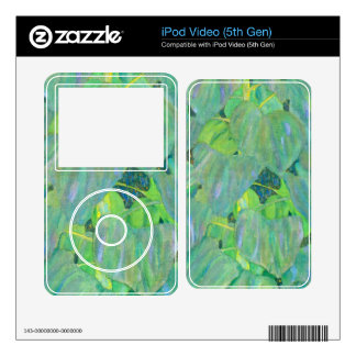 The Sunflower by Gustav Klimt Decal For iPod Video 5G