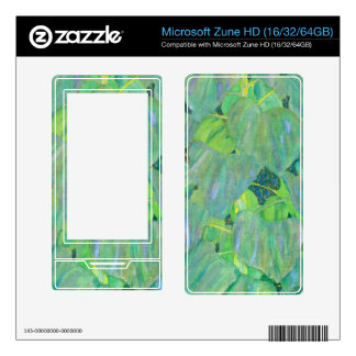 The Sunflower by Gustav Klimt Decal For The Zune HD