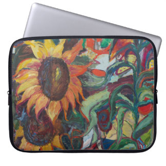 The Sunflower Garden Computer Sleeve