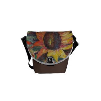 The Sunflower Garden Courier Bag