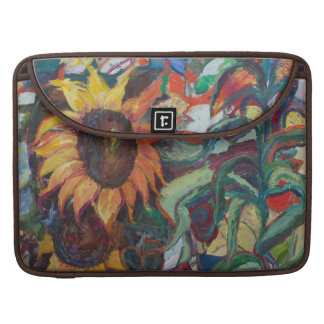 The Sunflower Garden Sleeve For MacBooks