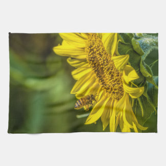 The Sunflower Amp Honeybee Kitchen Towel
