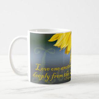 The Sunflower ... with love. Coffee Mug