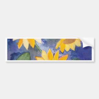 The Sunflowers Bumper Sticker