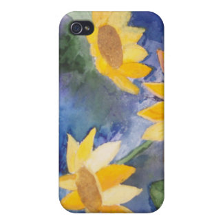 The Sunflowers Covers For iPhone 4