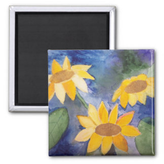 The Sunflowers Magnet
