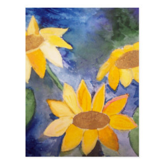 The Sunflowers Post Card