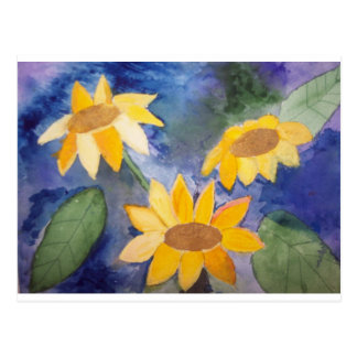 The Sunflowers Postcards