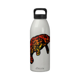 THE SUNNY MANATEE REUSABLE WATER BOTTLE